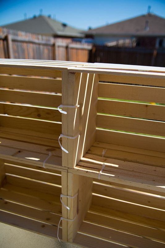 DIY Lemonade Stand Crates #Shop