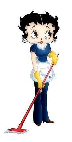Betty boop en casa..imagenes lindas - Graphic Arts / Betty Boop - HelloForos.com - Tu voz, tu idioma