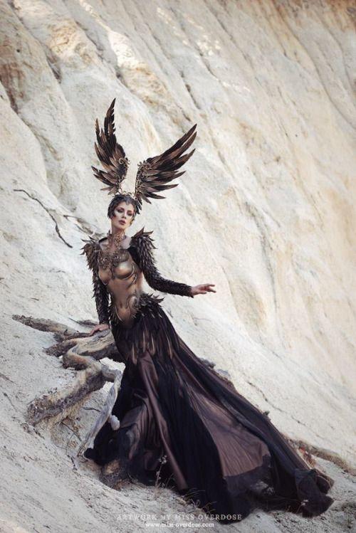 yallamann: Ophelia Overdose Model, make-up, retouch: Model Ophelia Overdose Photo: Moritz Maibaum Photography Fashion: Fairytas