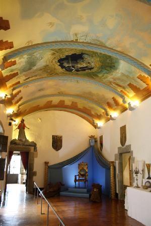 >>>ceiling, Castell de Púbol, Barcelona, Spain