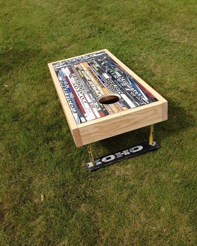 """221 Likes, 2 Comments - Hockey Players Club (@hockeyplayersclub) on Instagram: """"Awesome cornhole boards """""""