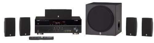 Yamaha YHT-495BL Complete 5.1-Channel Home Theater System by Yamaha. $379.95. From the Manufacturer                 The Yamaha YHT-495 5.1-Channel Complete Home Theater System offers many advanced home theater features including 4-in/1-out HDMI with 3D and Audio Return Channel compatibility, iPod/iPhone and Bluetooth compatibility, HD Audio with CINEMA DSP compatibility, and SCENE function.     Improve your home cinema experience with the Yamaha YHT-495 5.1 theater system  Thi...