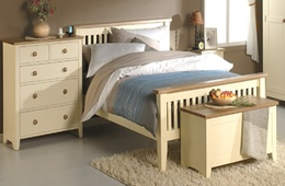 Painted Ivory Bedroom furniture - Braemar collection
