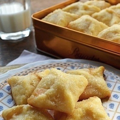 Recipe for Angel Pillow Cookies - An old time traditional danish recipe, I honestly can't stop eating them! This is a melt in your mouth cookie. Receipe was brought from Holland by my great grandmother.