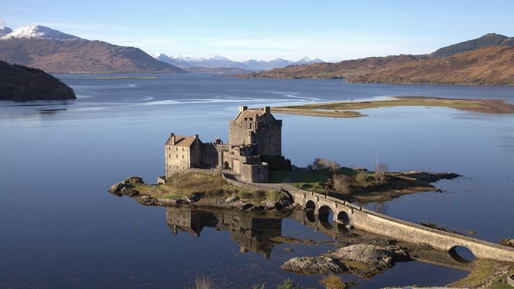 Eilean Donan Castle - 14 Fairy Tale Castles You Must Visit In Scotland - Hand Luggage Only - Travel, Food & Home Blog