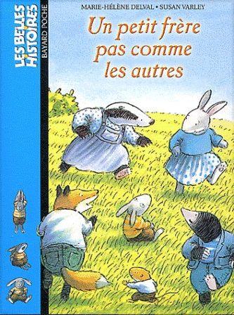 Un petit frère pas comme les autres de Marie Hélène Delval et Susan Varley paru aux éditions Bayard.  L'histoire d'une famille de lapins dont le plus jeune enfant est atteint de trisomie 21. Lu par l'association monégasque: je lis tu lis nous lisons