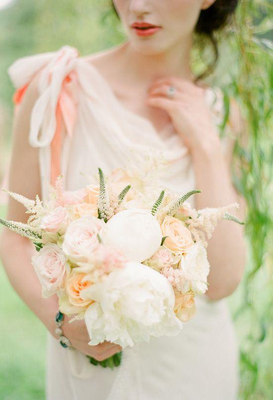 ウエディング ブーケ blush rose bouquet