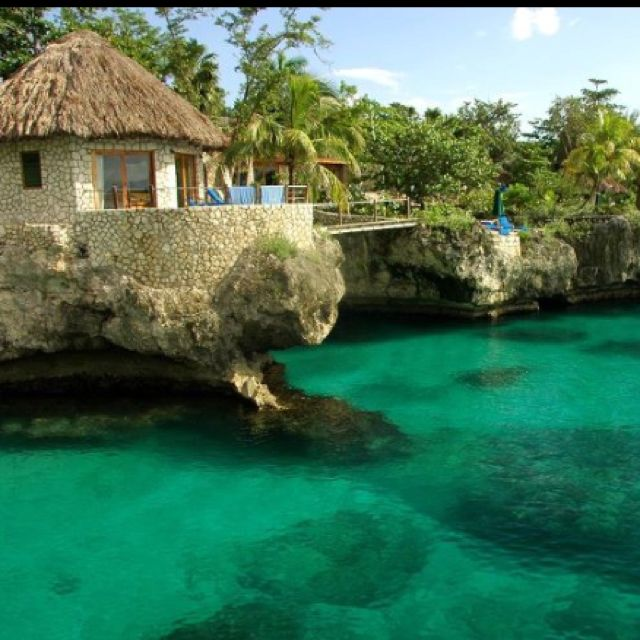 Rockhouse Jamaica. My #1 favorite spot to stay. It's worth the $$ for a villa on the oceanfront. Yvad & I stayed here many times. Memories! !