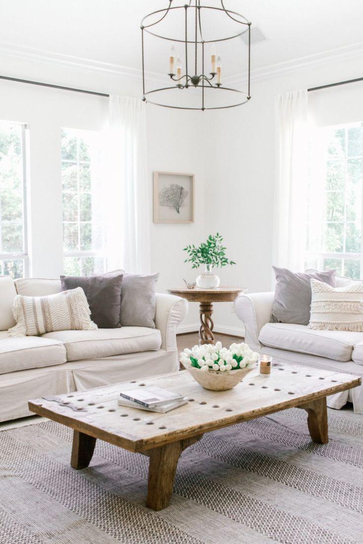 A coastal farmhouse in white done so right in 2020 room