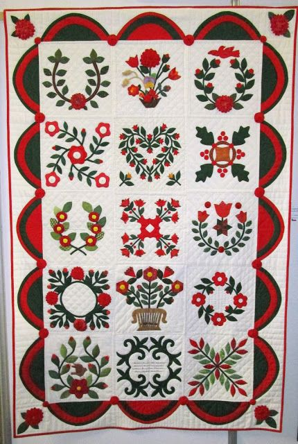 Team work – prague club of traditional pachtwork: my is bottom right