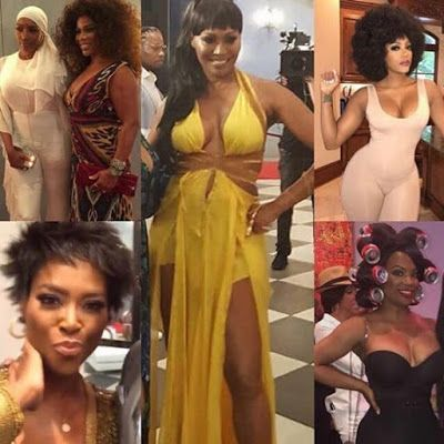 PHOTOS: The Real Housewives Of Atlanta Cast Spotted Filming Season 10 At Cynthia Bailey's #50Cynt Party!