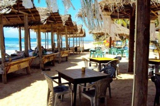 Mambo's Place, Sri Lanka, Hikkaduwa Beach, Beach bar