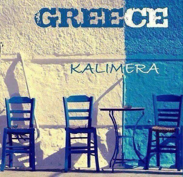 In greceste este Kalimera....deci...buna dimineata! Oferte Grecia aici: http://www.viotoptravel.ro/grecia/transport/avion.html