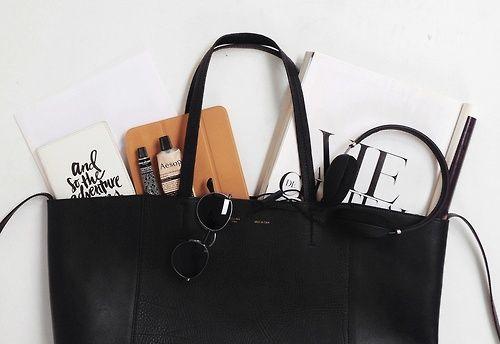 bag and its interiors