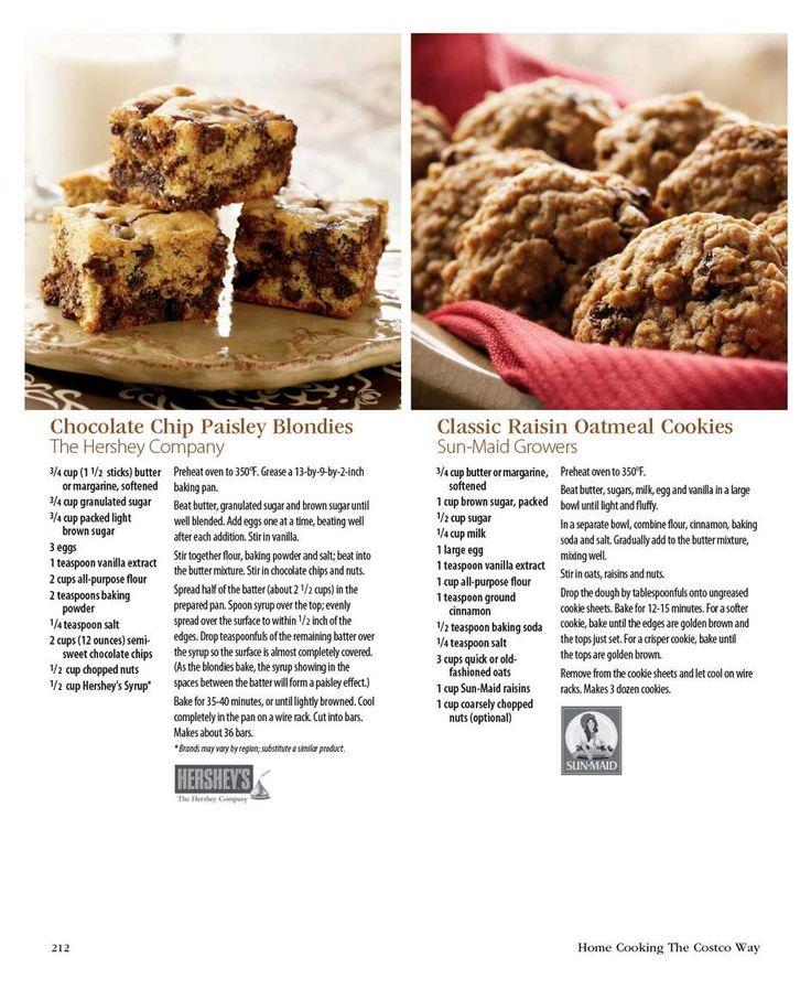 Raisin Oatmeal Cookies | Cookies | Pinterest