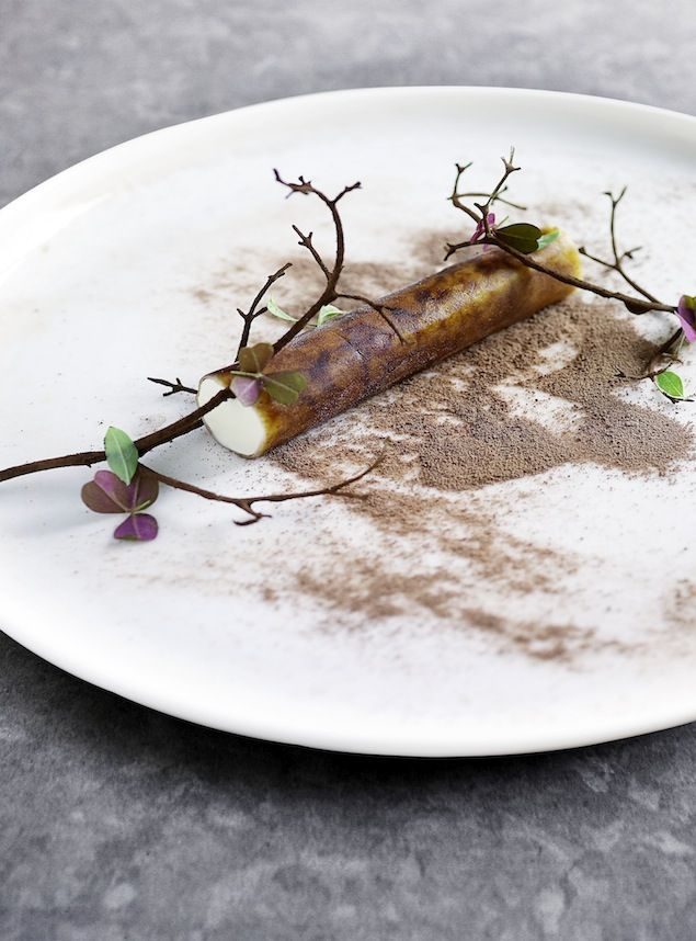 Ronny Emborg, Nordic star chef from Copenhagen and author of The Wizards Cookbook, creates a dish inspired by the birch tree.
