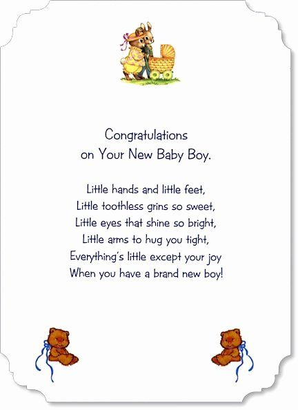 Baby Shower Sayings For Card Elegant Free Verses For Baby Boy Cards Google Search Baby Boy Cards Baby Shower Card Sayings Baby Card Messages