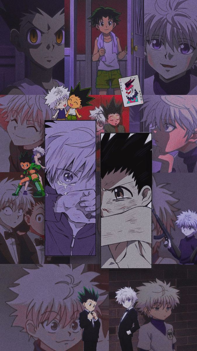 Killua And Gon Wallpaper In 2020 Anime Artwork Wallpaper Aesthetic Anime Hunter Anime