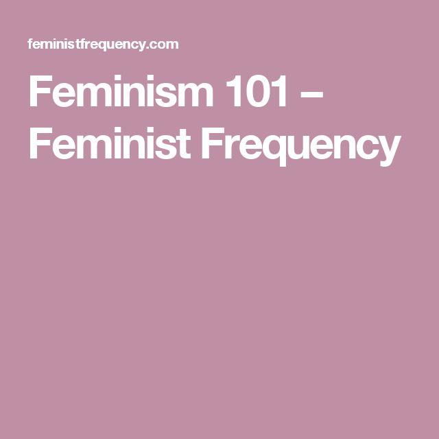 Feminism 101 – Feminist Frequency