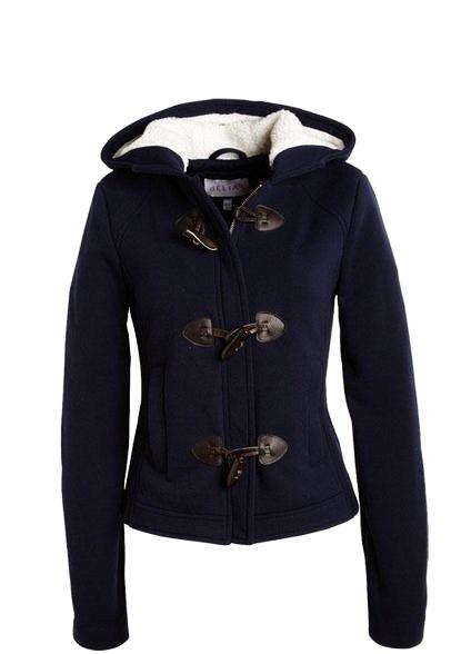 Dark Blue Short Womens Winter Coats - Womens Winter Coats