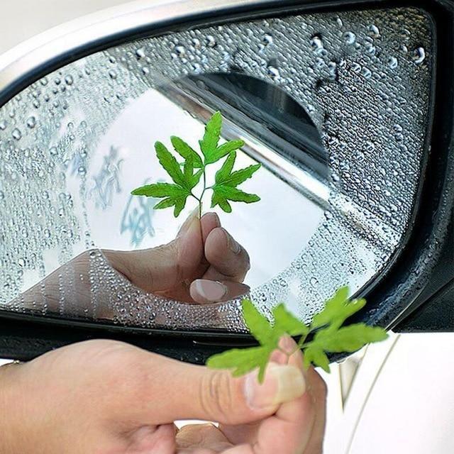 2 Selbstklebende Spiegelschutz Auto Folien Gegen Beschlagen