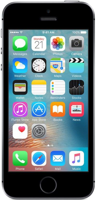 Apple iPhone SE is the most powerful 4-inch phone ever. It features advanced 12 MP camera capabilities and incredible processing power packaged in a beloved design.  Condition: Used product Storage:64GB (internal memory) Network:EE/T-Mobile/Orange/Virgin Colour:Grey Grade:A+ (pristine condition)