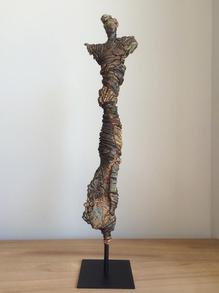 Powertex sculpture with Easy 3D flex - Abstract
