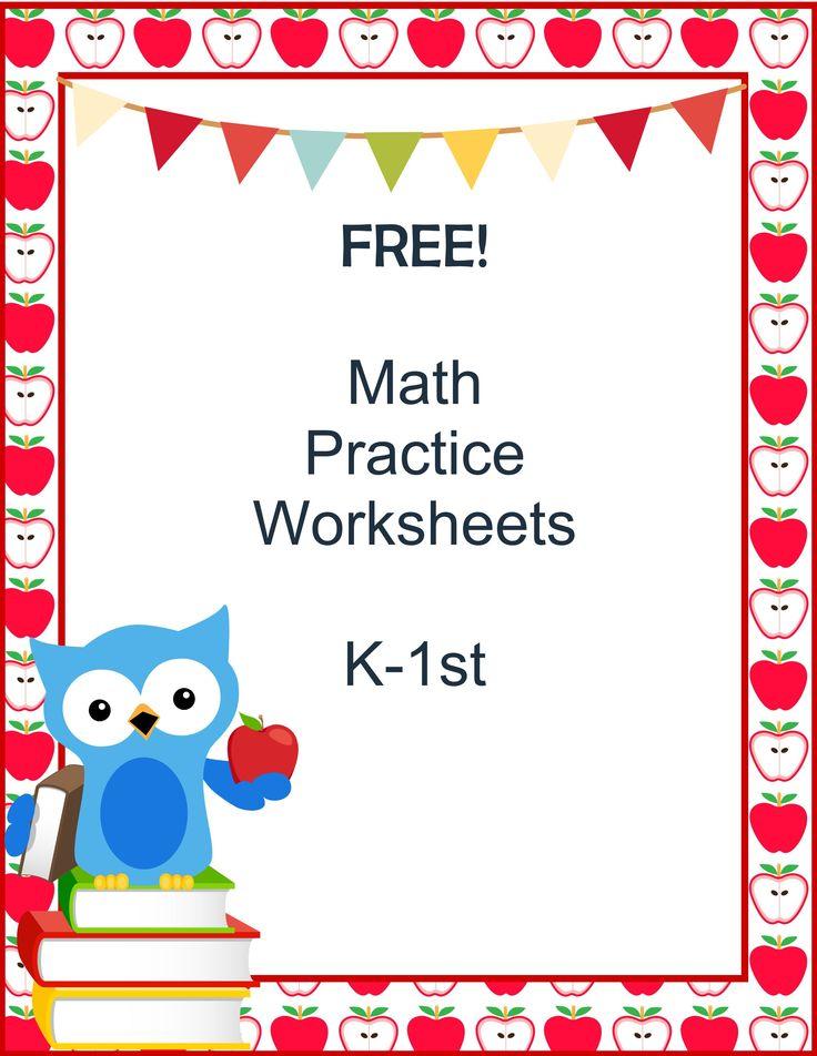 11 best images about homeschool math prek k on pinterest math facts math practice. Black Bedroom Furniture Sets. Home Design Ideas