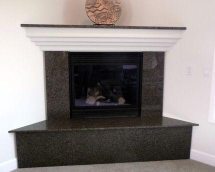 Granite Corner Fireplace - Viaggi   HomeFireplace ...
