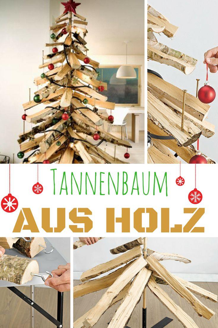 Endlicht ein Tannenbaum, der weder Wasser braucht noch nadelt!  #weihnachten #tannenbaum #weihnachtsbaum #christmas #Weihnachtsdeko #deko