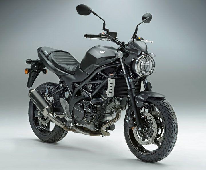 SW Motech Scramble the Suzuki SV650 - http://superbike-news.co.uk/wordpress/Motorcycle-News/sw-motech-scramble-suzuki-sv650/