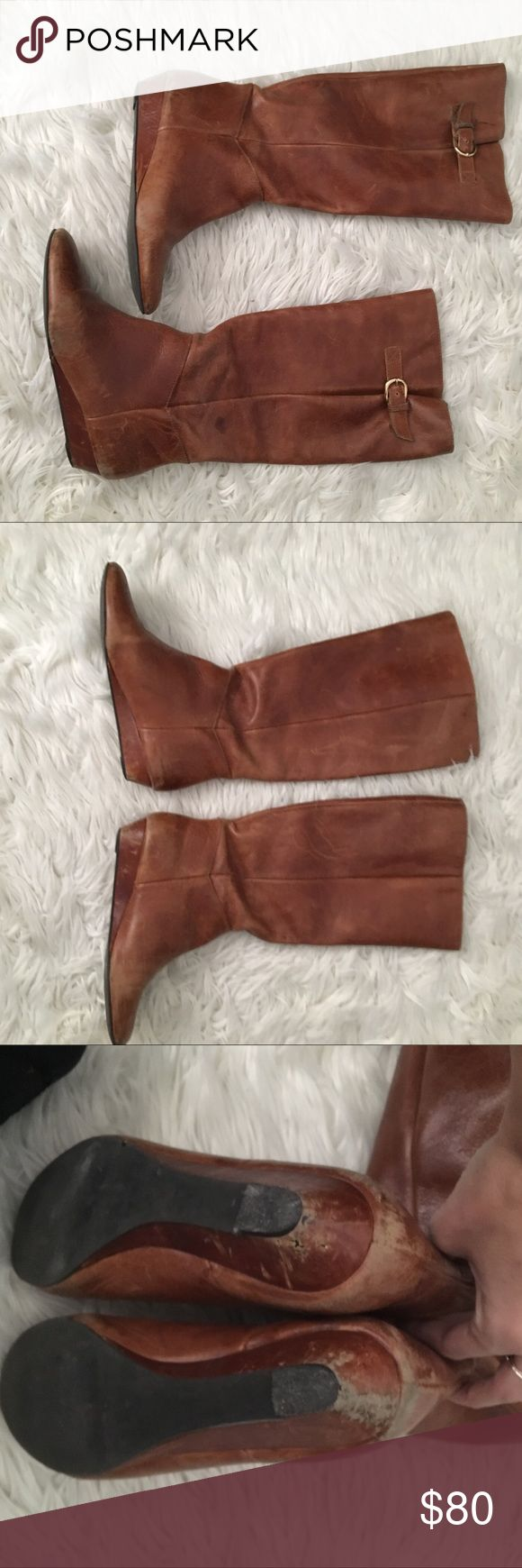 Steve Madden Intyce Boots Good condition, see photos for signs of wear Steve Madden Shoes Winter & Rain Boots
