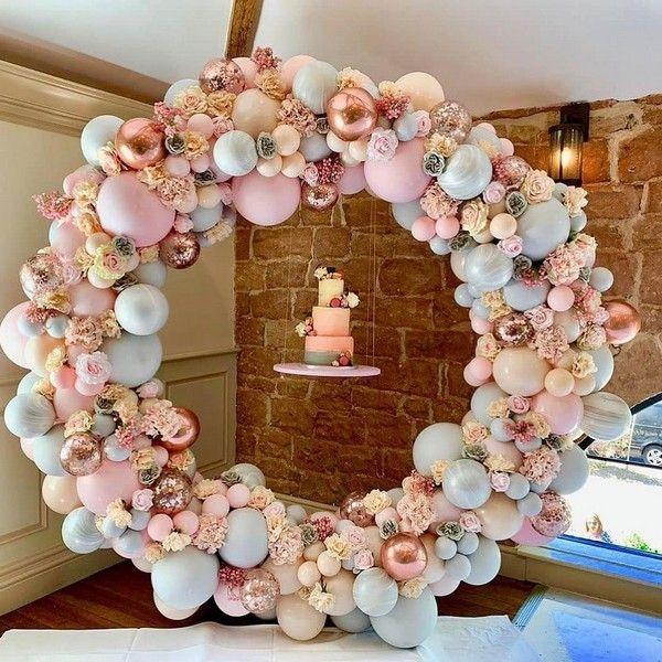 Top 20 Creative Balloons Wedding Decor Ideas