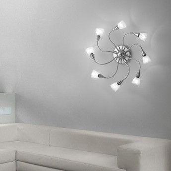 Nowoczesny plafon z serii Tender - producent Ideal Lux. #Ideal_lux #Tender #plafon #modne_lampy #oświetlenie #wnętrze #interior #design #lampy_kraków #abanet_kraków