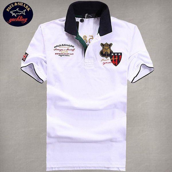 cheap ralph lauren polo shirts Paul & Shark Men's Sleeve UK Flag Polo Shirt White http://www.poloshirtoutlet.us/