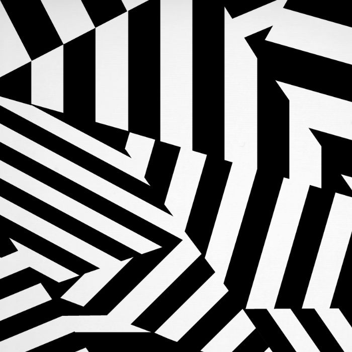 RADAR/ASDIC Black and White Graphic Dazzle Camouflage Art Print by Kristian Goddard | Society6