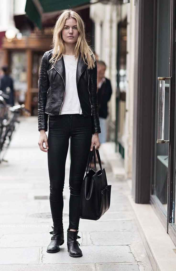 best 25 black leather jackets ideas on