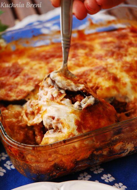 OBIAD: Zapiekanka z mięsem mielonym i bakłażanem