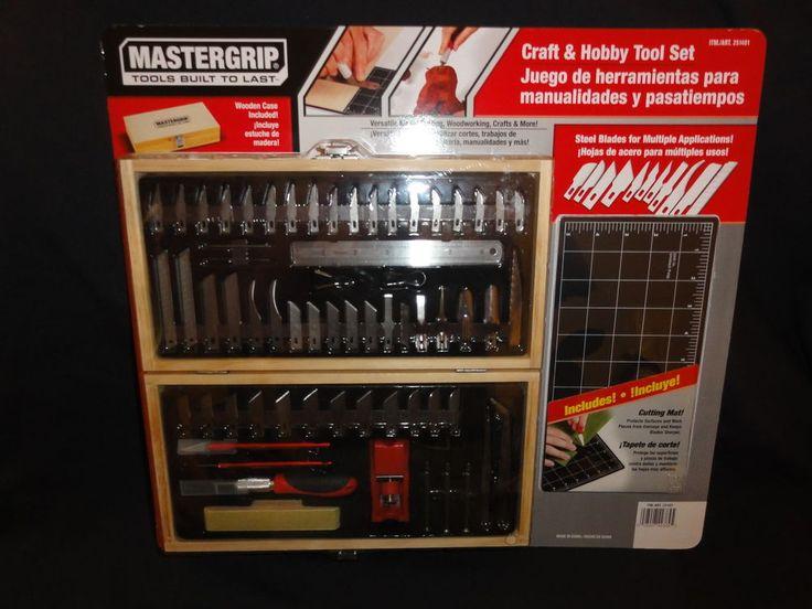 Mastergrip - Craft & Hobby Tool Set