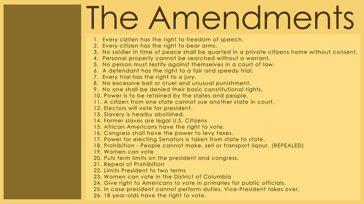 is the amendment process fair to the people The bill of rights (amendments 1 - 10) rss religion or prohibiting the free exercise thereof, or abridging the freedom of speech or of the press, or the right of the people peaceably to.