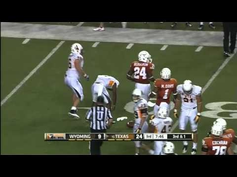 18 best Texas Football vs. Wyoming [Sept. 1, 2012] images ...