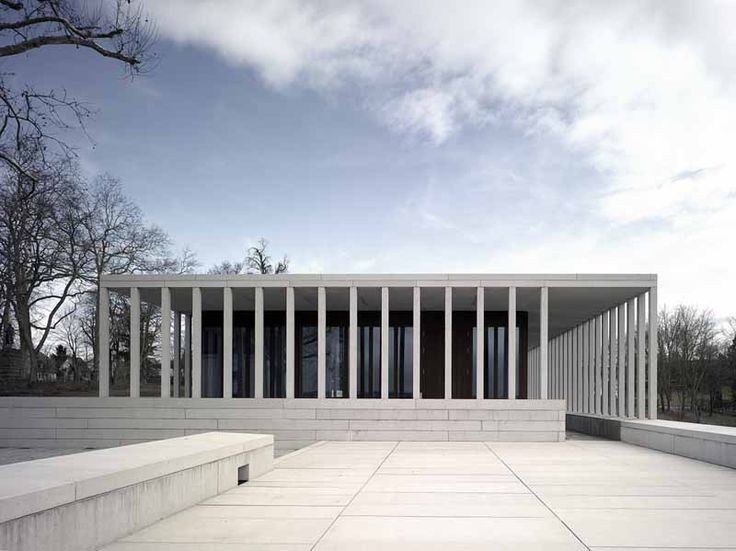 Museum of Modern Literature ( Literaturmuseum der Moderne) : LiMo - Marbach am Neckar, Deutschland / 2002-06 / David Chipperfield