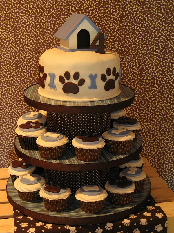 Best 25 Puppy Birthday Cakes Ideas On Pinterest Puppy