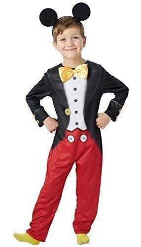 Jungen Offiziell Disney Mickey Mouse Buchertag Halloween Cartoon