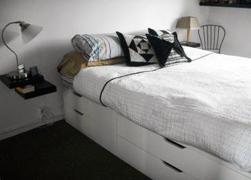 Best 25 one bedroom apartments ideas on pinterest nice for Space saver beds ikea