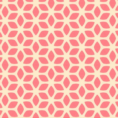 :: Retro Summer Pink fabric by stoflab on Spoonflower ::