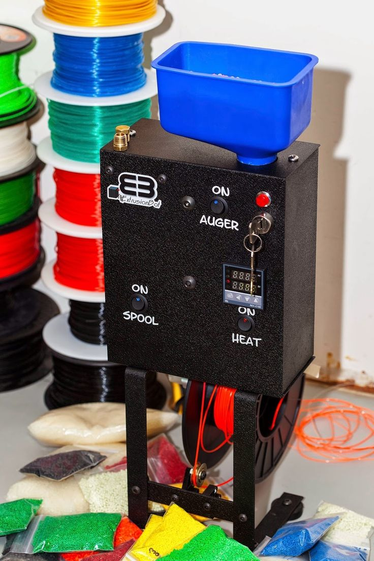 Make Your Own 3D Printer Filament with the ExtrusionBot.