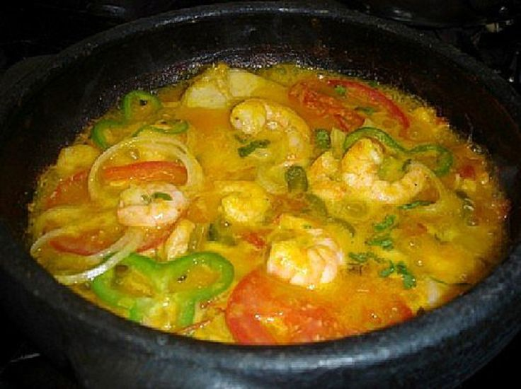 |Receita|  Caldeirada de peixe cozinhei por 30 min