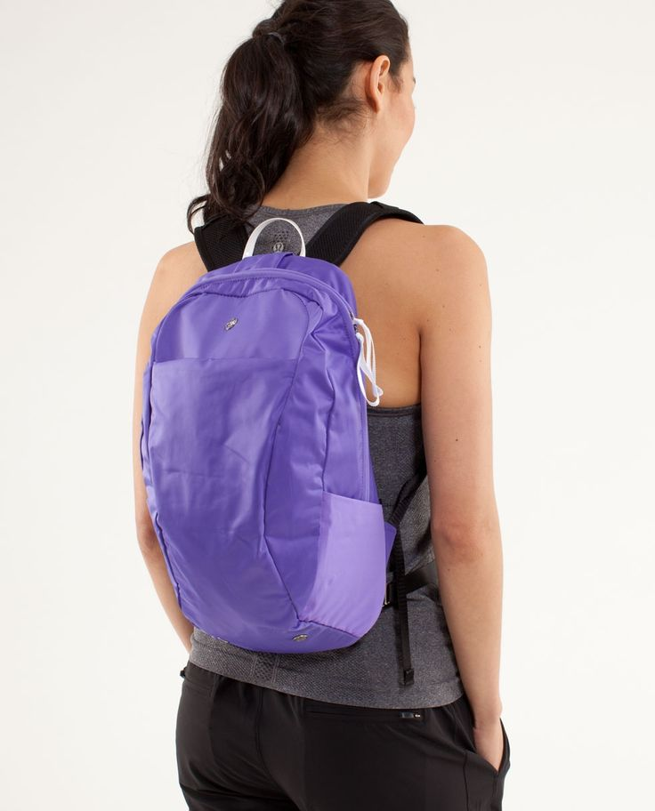 small travel backpack. lululemon $98 | Workout Ready Gear ...