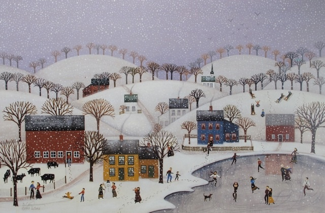 Snow Flurry - Print